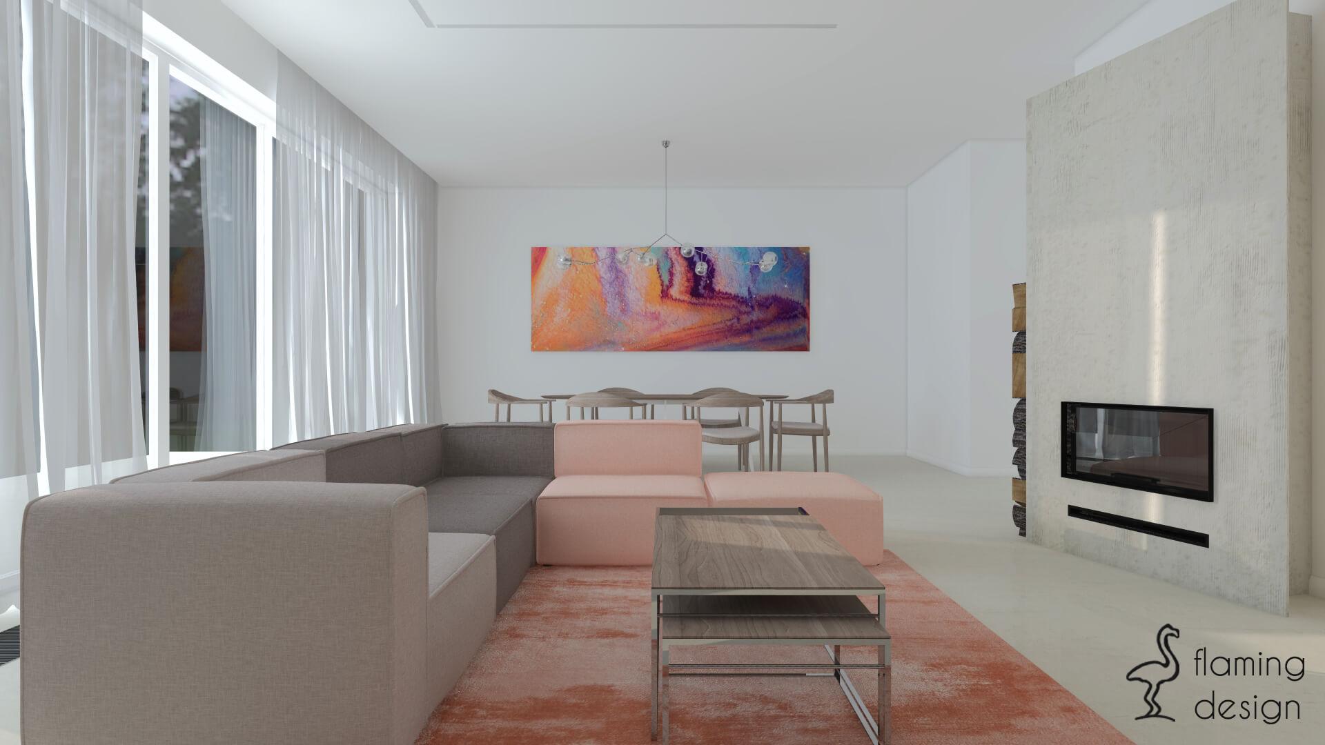 Salon Z Kuchnia Flamingdesign
